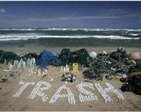 Marine debris in the Central Pacific