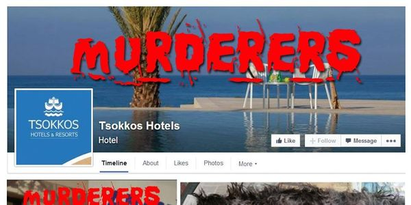 Boycott the murderer's Tsokkos Hotels and Resorts. Justice For Billy !!!