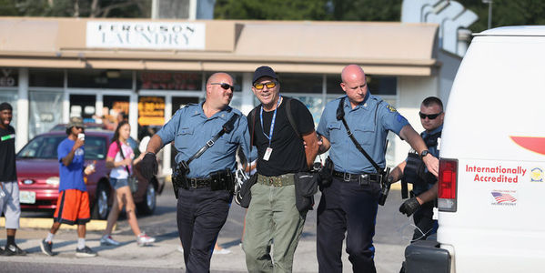 Demand Ferguson Police Identify Themselves