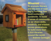 Stop Whitefish Bay, WI Board of Trustees from Bringing the Hammer Down on Little Free Libraries