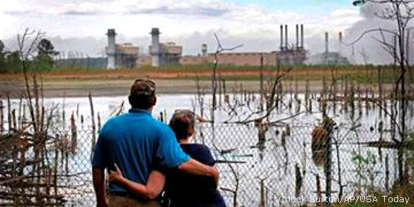 Duke Energy, Get Your Coal Ash Ponds Away From NC Waterways!