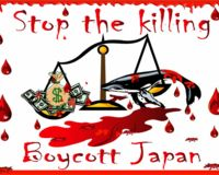Boycott JAPAN until THE KILLING STOPS!
