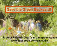Save the Green Backyard!