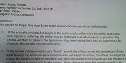 Stop the shooting of stray dogs in Harrisburg, Pa