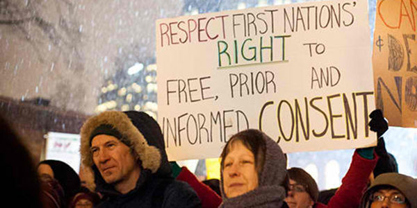 Urge Canada Not to Proceed with Northern Gateway without First Nations Consent