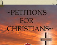 PRAY FOR THE PERSECUTED CHRISTIAN:MAKE A COMMITTMENT~