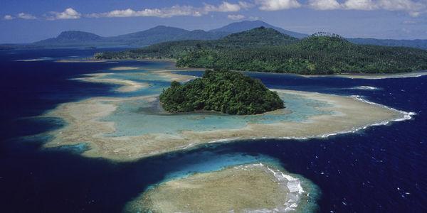 Island near Papua New Guinea