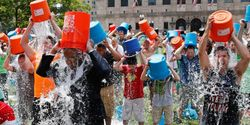 President Obama needs to take the Ice Bucket Challenge and get other world leaders to do the same!