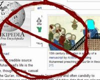 Remove the Illustrations of Muhammad from Wikipedia