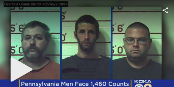 mugshots of cruel men who sexually assaulted animals