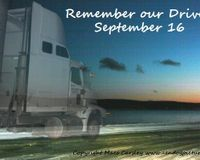 National Truck Driver Remembrance Day