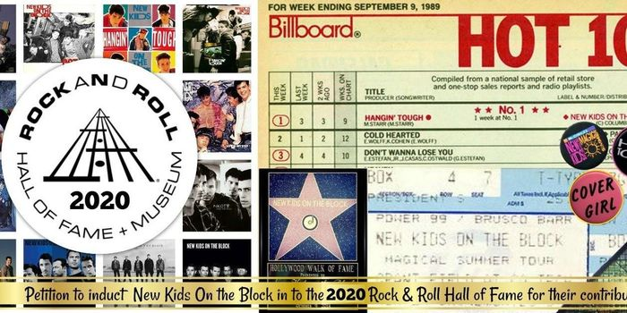 New Kids On The Block Tour 2020 Induct ​NKOTB into 2020 Rock and Roll Hall Of Fame   petition
