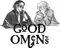 Tom Hiddleston and Benedict Cumberbatch for Aziraphale and Crowley (Respectively) in Good Omens
