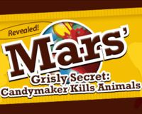 Tell MARS' Candy- Stop Animal Experiments