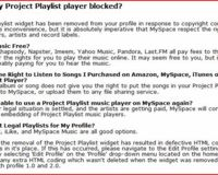 Playlist.com on MySpace