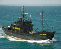 Sea Shepherd vessel the Steve Irwin