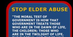 STOP Elder Abuse and Guardianship Abuse - Protect Senior Rights