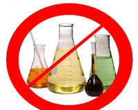 Say no to harsh chemicals and pesticides