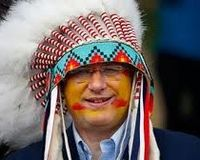 The Blood Tribe should strip Harper of his Head Dress.