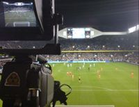 Change back the camera angle at White Hart Lane