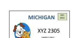 Support a Spay/Neuter License Plate for the State of Michigan