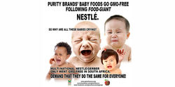 Nestlé/Gerber: Stop using genetically modified ingredients in baby food in No. America & Worldwide