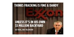Tell Exxon CEO: Homeowners Want Their Money Back!