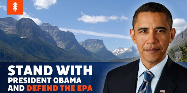 Stand with President Obama and the EPA