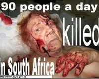 Stop the white genocide in South Africa