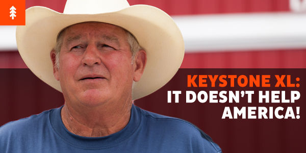Stand Against Keystone XL: It Doesn't Help America