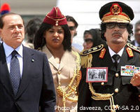 Berlusconi: You Can Stop Violence Against Libyans
