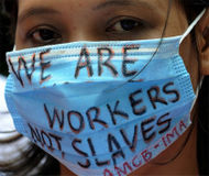 Ban domestic workers to Saudi Arabia