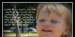 Justice for Brian Hawes, protection for all children