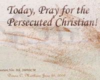 MAKE A COMMITTMENT TO PRAY FOR THE PERSECUTED CHRISTIANS IN NIGERIA!