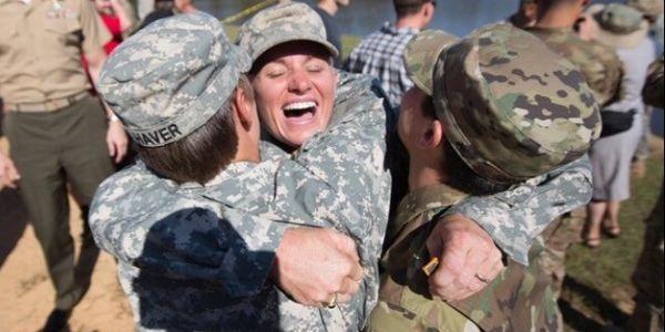 military men and women