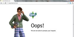 No More Oops! Sims3