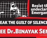 Release jailed for life human rights activist Binayak Sen