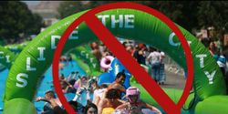 Stop The City of Los Angeles From Allowing Giant Water Slide in Downtown During State Wide Drought!