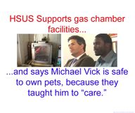 The HSUS Supports Gas Chambers/Michael Vick&Vivisection,Should We Support The HSUS?