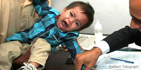 Pakistan, Discipline Police Who Charged Infant with Attempted Murder
