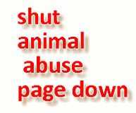 SHUT DOWN THE ANIMAL ABUSE, WOLF BUTCHER SUPPORT PAGE