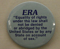 Ratify the Equal Rights Amendment to Ensure Equality for All Americans!
