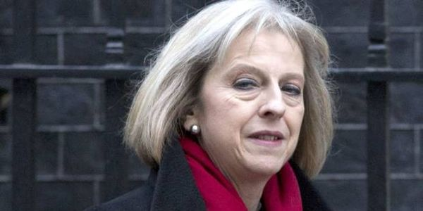 To remove Theresa May from position of Home Secretary with immediate effect