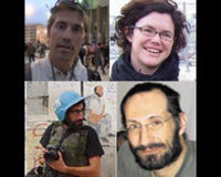 Free Imprisoned Journalists: Foley, Gillis, Brabo, and Hammerl
