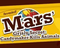STOP Animal Experiments at Mars Candy