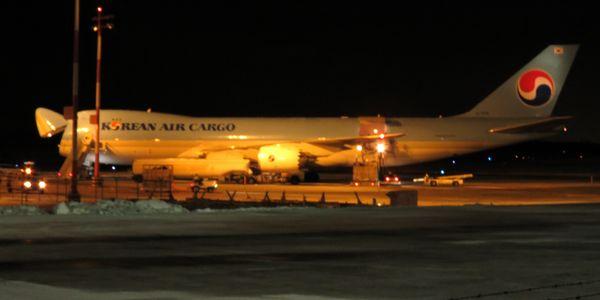 Koreain airline plane