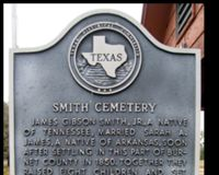 Demand Access to Smith Cemetery - FM 963 in Burnet County, Texas
