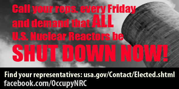 Shut down all U.S. nuclear power plants immediately due to Nuclear Regulatory Commission furlough
