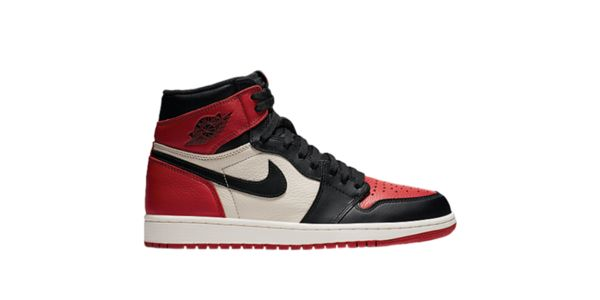 RESTOCK AIR JORDAN 1 HIGH OG RETRO BRED TOES! @footlocker and nike